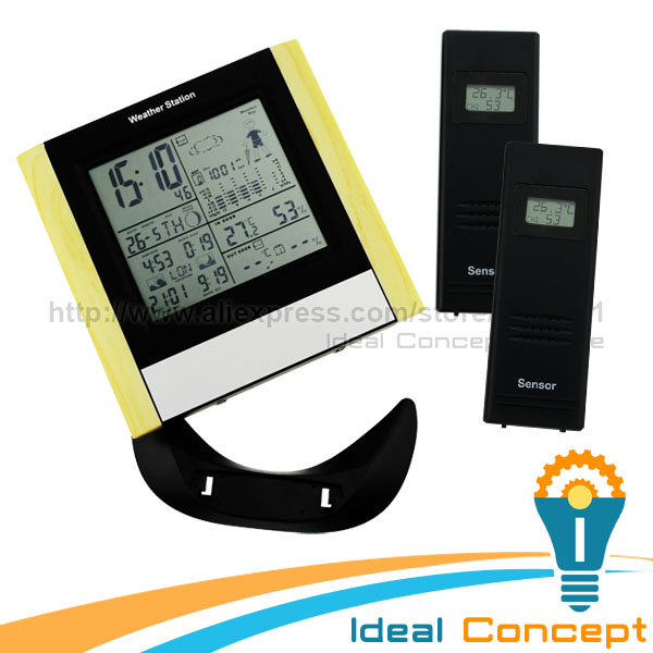 ФОТО 5 State Weather Forecast Weather Station Alarm Function AM/PM Indicator RCC Index Indicator