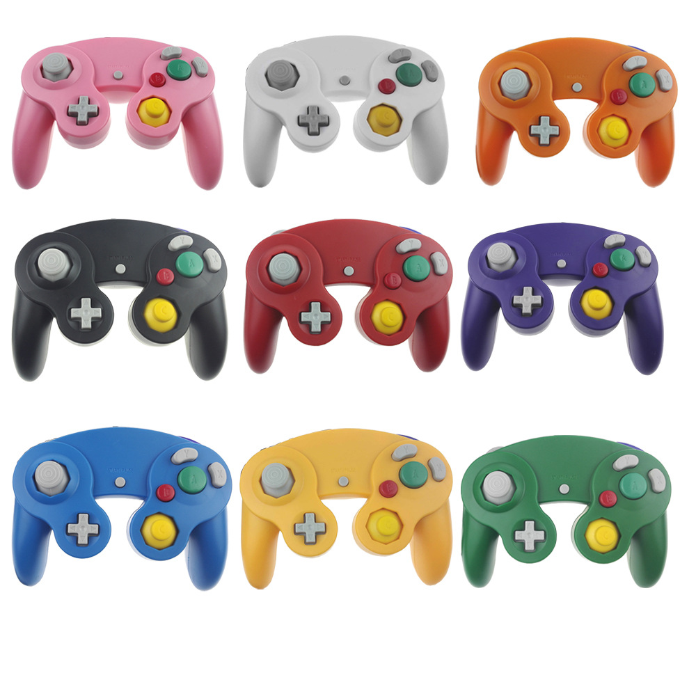 100pcs Top quality Wired Game Controller Gamepad Joystick for NGC NINTENDO GC Game Cube For Platinum
