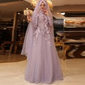 2016 A-line  Moro Kaftan robe de soiree Muslim Evening Dresses Islamic Dubai Abaya Kaftan Long Evening Gown Prom Dress