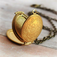 Necklace Women 2019 long necklace Necklace Men Expanding Photo Locket Necklace Pendant Angel Wings Gift Jewelry Decoration(China)