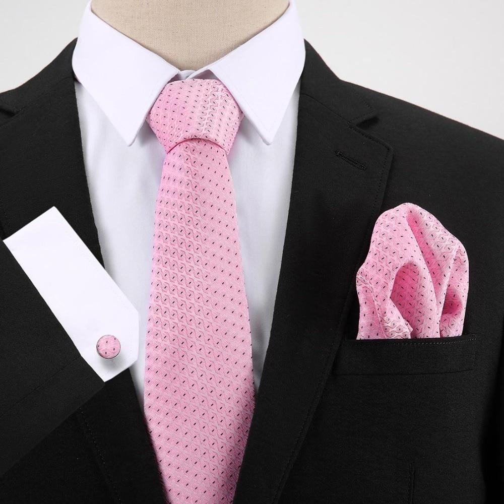 Tie Sets New Design For Men Dot amp Paisley Tie Handkerchief Cufflinks Sets Business Wedding Party Neck Ties Set in Men 39 s Ties amp Handkerchiefs from Apparel Accessories