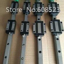 6 компл. HB20 линейный рельс + 3x SFU1605-350/700/1000 мм ballscrew комплекты + BK BF12 + муфты для CNC