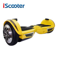IScooter Hoverboard 2 Wheel Electric Skateboard Steering Wheel Self Balancing Electric Scooter Kick Scooter With Bluetooth