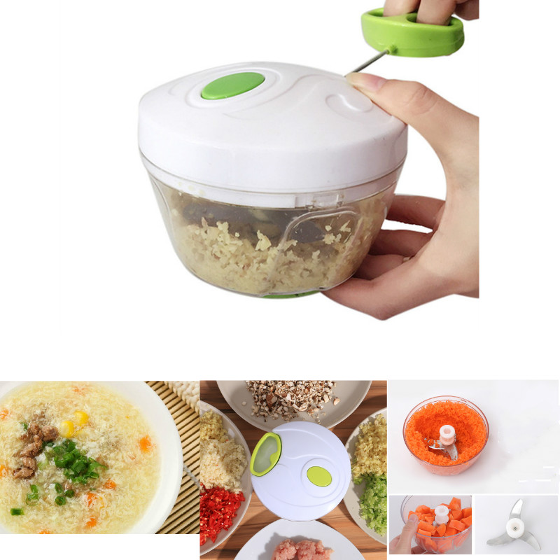 Baby Grinding Food Supplement Baby Food Maker Vegetable Chopper  Meat Machine Crusher Blender Kid Lunch DIY Maker 3