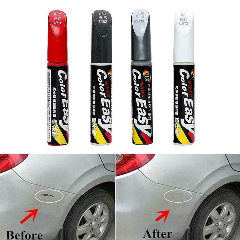 Автомобильный цветной инструмент для удаления царапин, белый, красный, черный, серебристый, профессиональный инструмент для ремонта царапи...