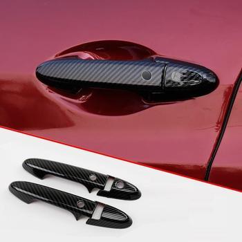 자동차 트렁크 바디 도어 핸들 외관 크롬 수정 장식 스티커 스트립 수정 밝은 18 19 혼다 XR-V