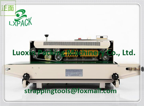 LX-PACK Brand Lowest Factory Prices Tabletop Vertical Rotary Sealer High Efficient Horizontal Nozzle Vacuum Band Sealer