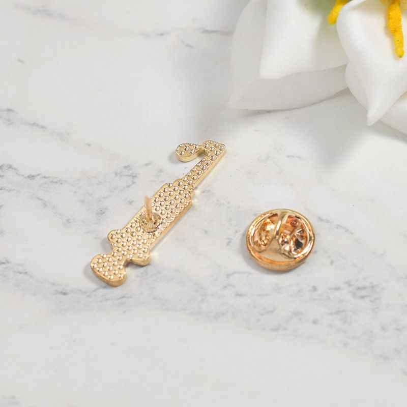 Enamel Medis Jarum Suntik Bros Kerah Pin Fashion Perhiasan Hadiah untuk Dokter Perawat