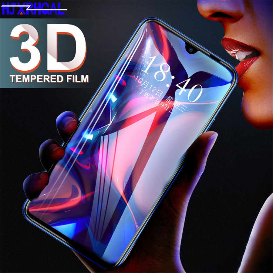 Tempered Glass For Huawei Y9 Y6 Pro Y7 2019 Full Cover Screen Protector for Huawei Y7 Y5 Y6 Prime 2018 Y7s Glass Protective Film