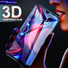 Tempered Glass For Huawei Y9 Y6 Pro Y7 2019 Full Cover Screen Protector for Huawei Y7 Y5 Y6 Prime 2018 Y7s Glass Protective Film(China)