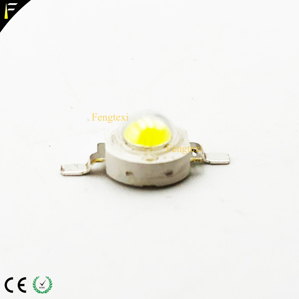 Stage Light <font><b>Par</b></font> Can <font><b>Parts</b></font> 3w <font><b>LED</b></font> Lamp Chip Beads Single Color White/Warm White/Red/Blue/Green Color 3 watt DIY <font><b>LEDs</b></font> image