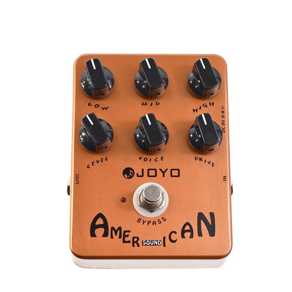 JOYO JF-14 American Sound Guitar Amp Simulator Effect Pedal ...