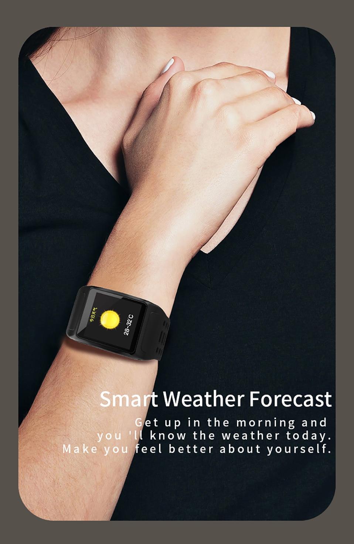 ALANGDUO Z01 Smart Watch Color Screen Smart Wristwatch Big Dials Heart Rate Monitor Micro sensor Waterproof Smart Watch Bracelet (13)