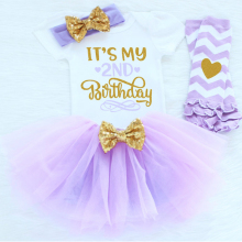 4 Piece Birthday Dressing Set