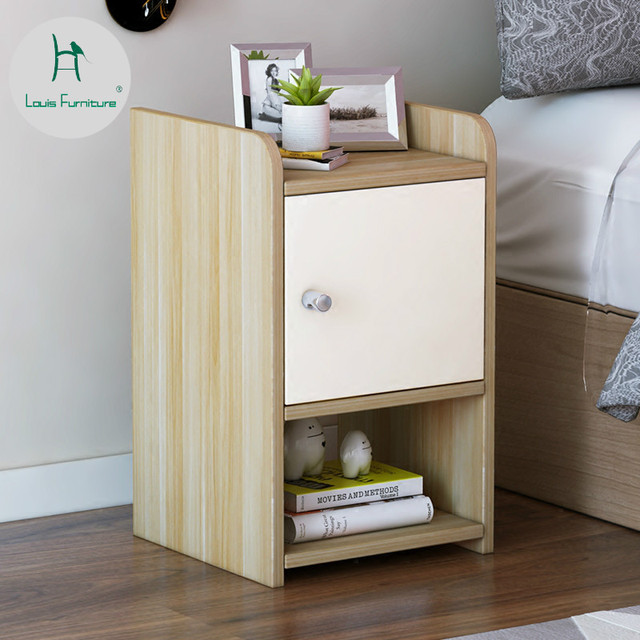 Louis Fashion Nightstands Coffee Tables Wooden Bedroom
