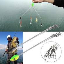 1 шт. рыболовный крючок комбинация s удобная на открытом воздухе Рыболовная Приманка 5 цветов многофункциональные рыболовные снасти шарнирная снасть комбинация