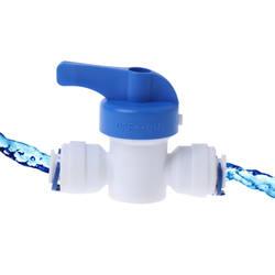 RO воды обратного осмоса 1/4 ''Inline Новый шаровой клапан Quick Connect отключения