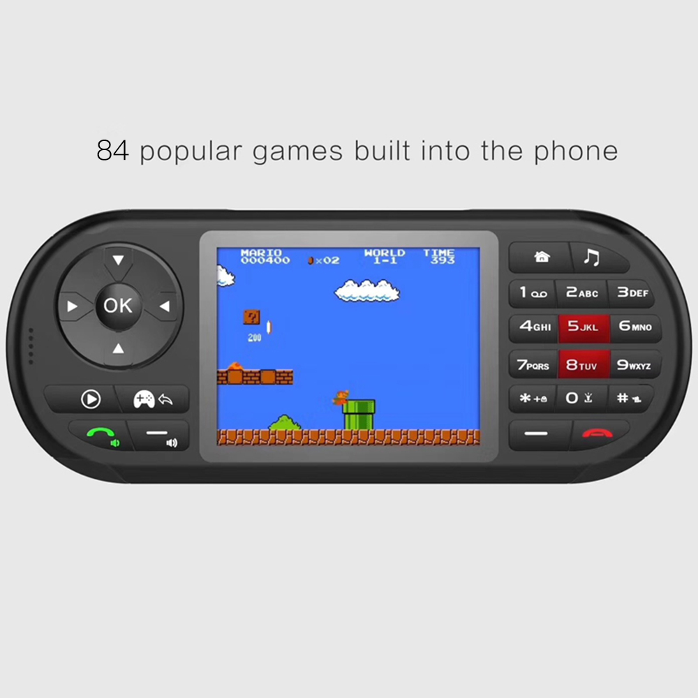 New Popular Ideal Mobile Phone With Portable Handheld Game Player Camera 2.8