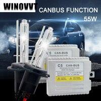 C5 55W H7 xenon kit HID for car headlight H1 H3 H4 H7 H8 H11 9005 9006 881 D2S bulb 4300K 6000K 8000K Canbus HID xenon lamp