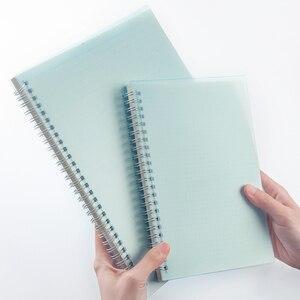 A5 цветной PP чехол в горошек/сетка/пустая/линия катушка Sketchbook тетрадь для рисования детей