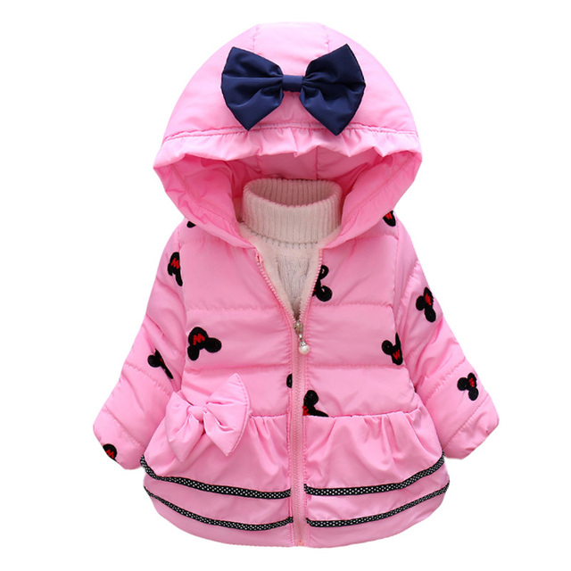 Infant Girls Coat and Jacket 2019 Autumn Winter Jackets For Baby Girls Jacket Kids Warm Outerwear Coats For Baby Newborn Clothes