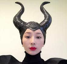 Halloween Cosplay Maleficent Witch Horns Hat + FREE Shipping