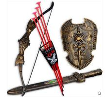 Three-piece set sucker style simulation archery  Children's toy Bow & Arrow