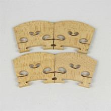 Free Shippin B 20 Pcs most solid flame maple wood 4/4 violin bridges dried in the open air 20 years parts accessories