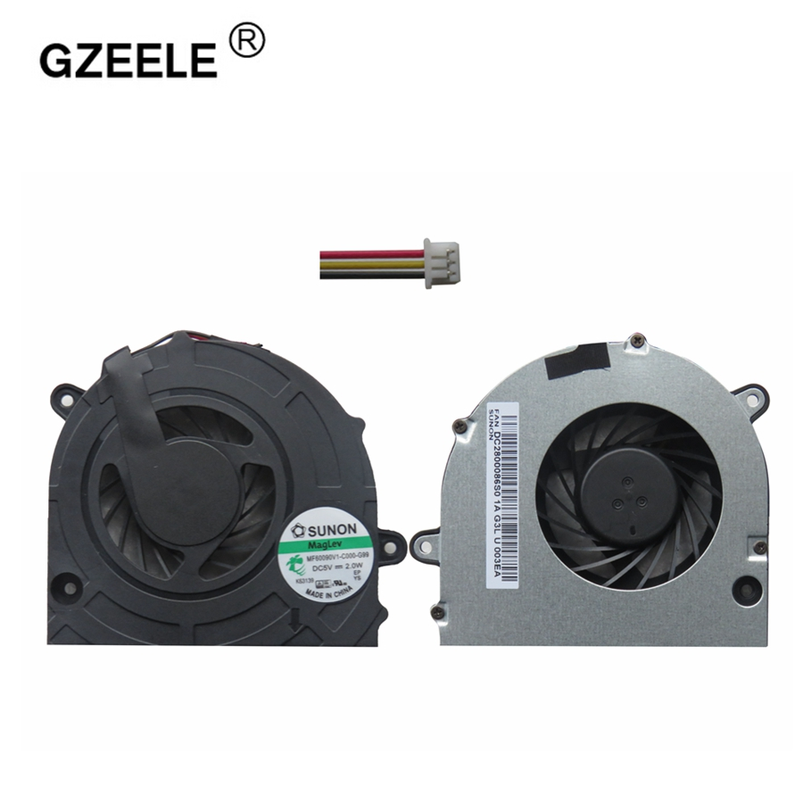 GZEELE New Laptop Cpu Cooling Fan For Toshiba Satellite C670 C670D C675 C675D L770 L770D L775 L775D 13N0-Y3A0Y02 CPU Cooling Fan