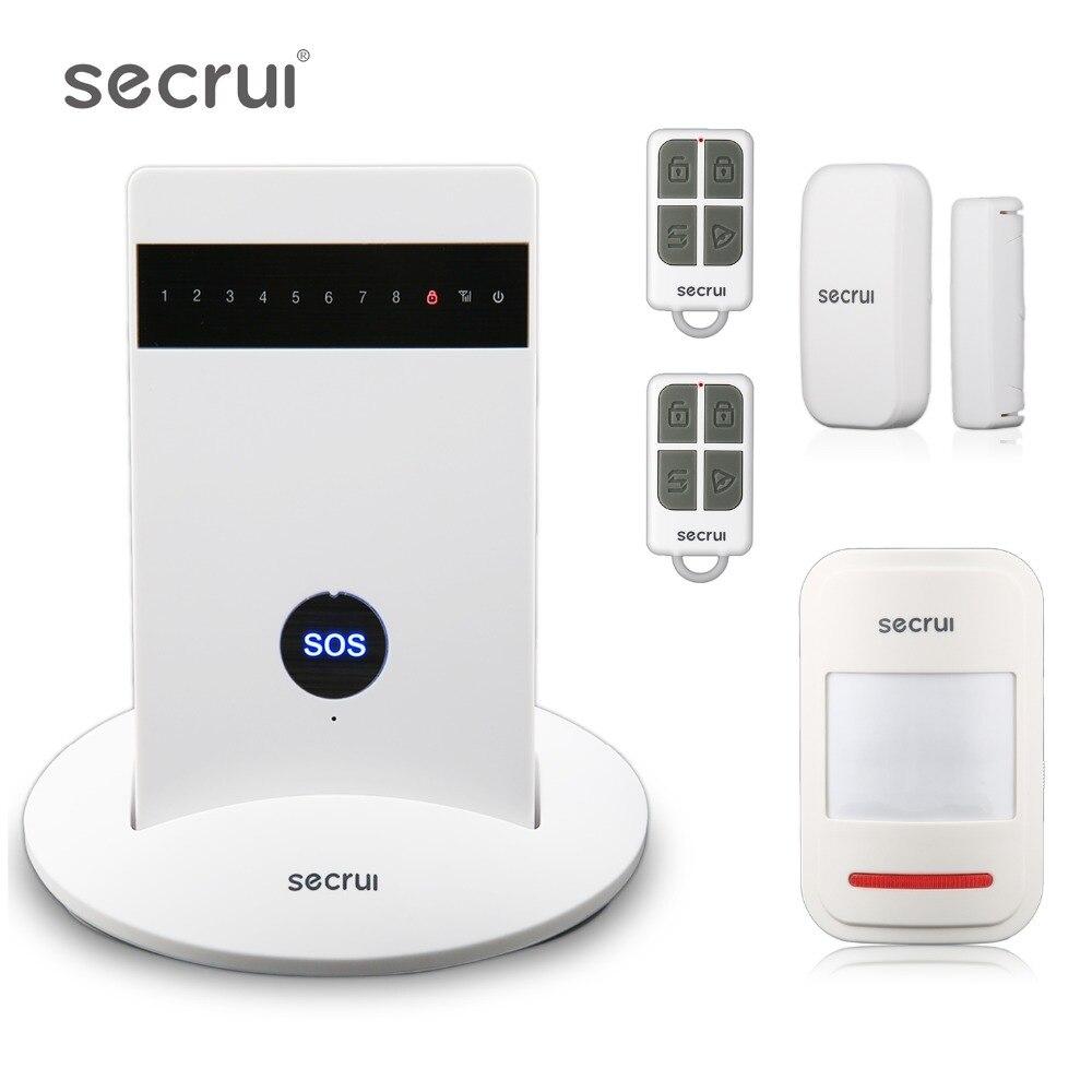 Système d'alarme Pour La Maison de Sécurité Gsm Wifi Sans Fil de Sécurité Alarmes De Voiture Accueil Alarme Maison Évasion Chambre Résidentiel Alarme Keychain G15