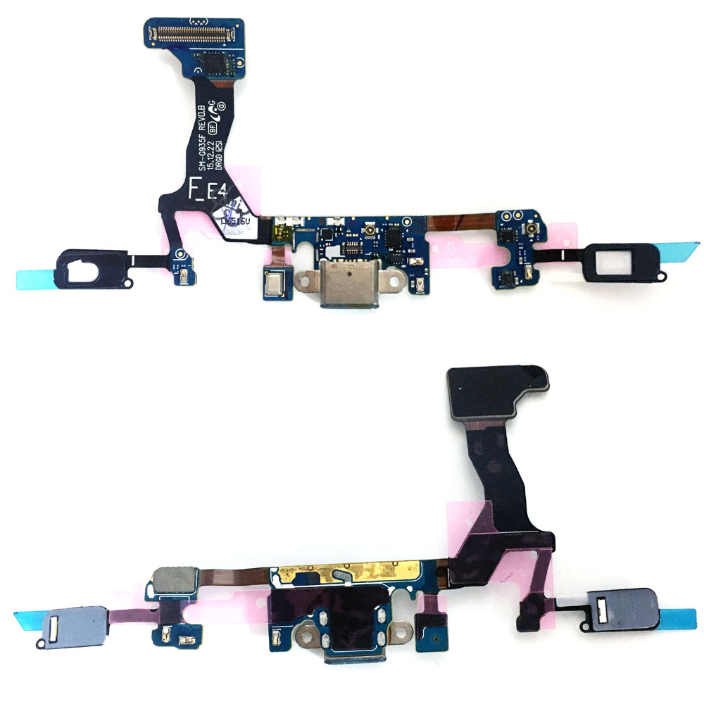 For Samsung Galaxy S7 edge <font><b>SM</b></font>-G935F G935A <font><b>G9350</b></font> Charge Charging Port Dock Connector Flex Cable image