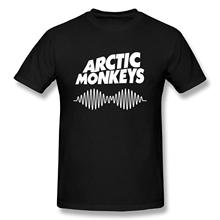 SepreanTee Mens Custom Arctic Monkeys T Shirts  Free shipping newest Fashion Classic Funny Unique gift