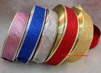 Christmas Decoration Satin Ribbon Steering Wheel Tape Jacquard Ribbon Sewing Supplies Wedding Decoration Party Supplies 5pcs