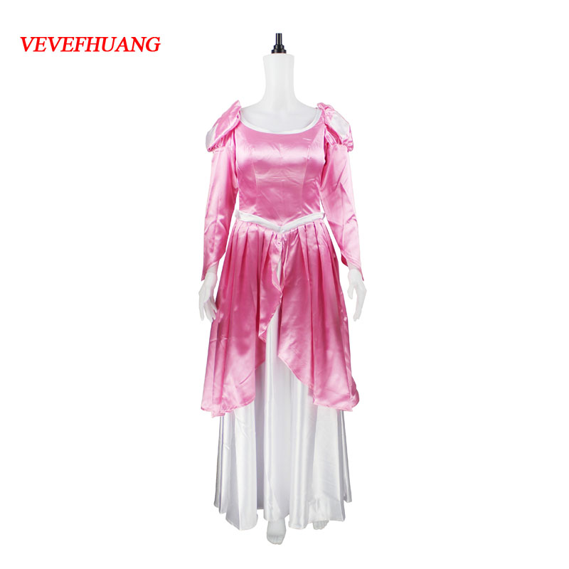 VEVEFHAUNG New Arrivel The Little Mermaid Princess Adult Ariel Cosplay Costume custom any size Halloween 2018 high quality the little mermaid ariel green dress ariel princess costume adult women halloween cosplay costume