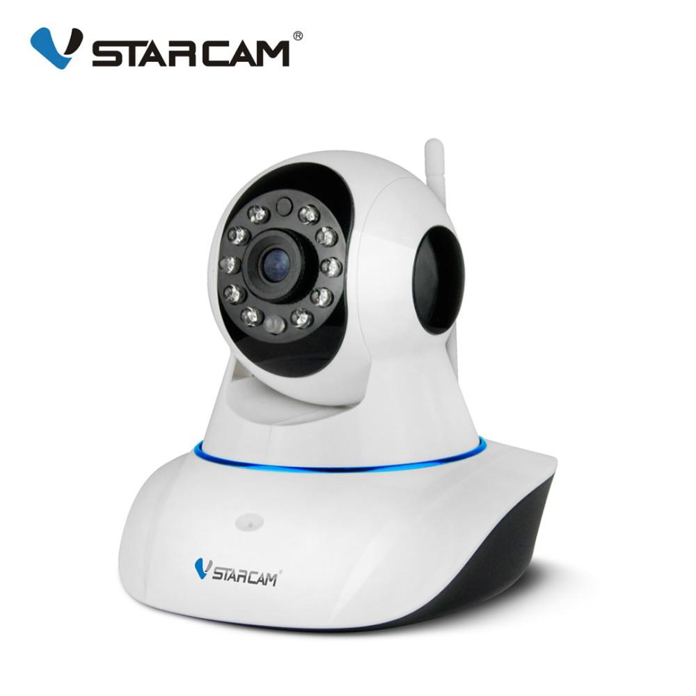Оригинальный Vstarcam 720 P IP камера C7825WIP Wi Fi видеонаблюдения ИК ночное видение, PTZ мобильное приложение просмотра аудио говорить