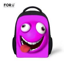 Cute Little Student Kids School Bag Children's Emoji Funny Book Bags for Kindergarten Baby Boy Girl Lovely Schoolbags