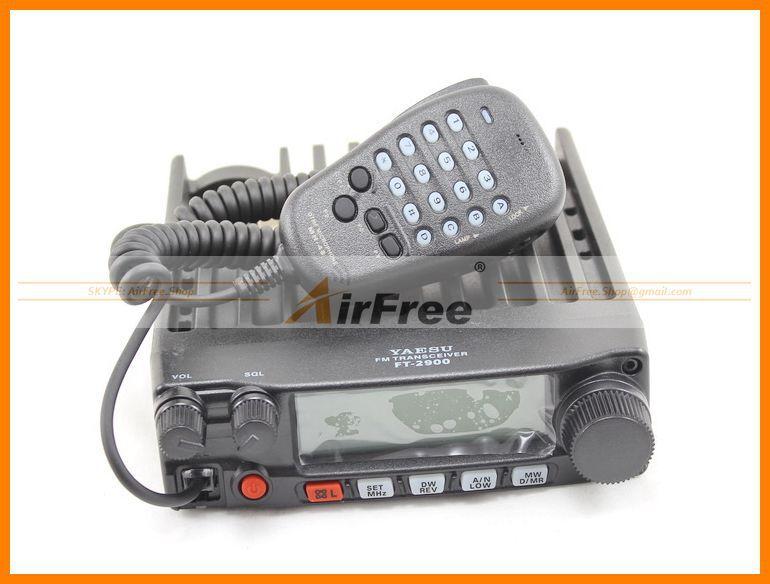 ORIGINAL YAESU FT-2900R Long Range Mobile Radio 75W High Power Base Radio Station