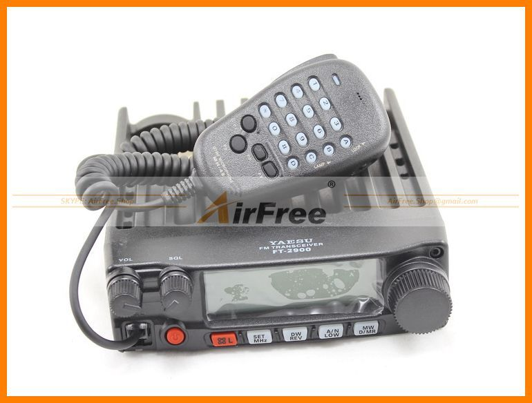 ORIGINAL YAESU FT-2900R Long Range Mobile Radio 75W High power Base Radio Station image