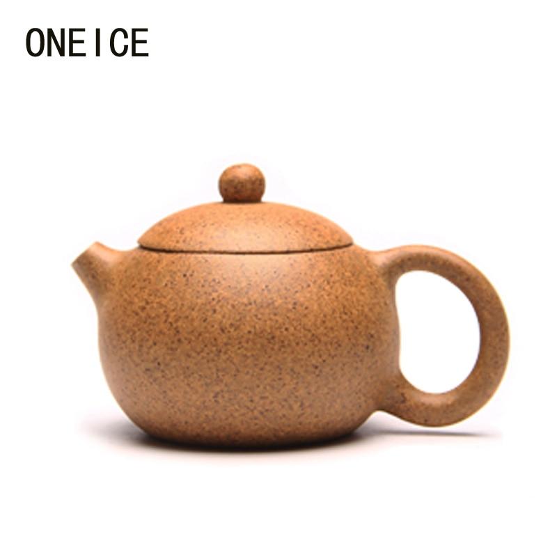 Feitas À Mão Grande Pote Xishi Parágrafo lama de alta temperatura jogo de Chá bules Autor peng Jian Chinês Bules Yixing Teaware