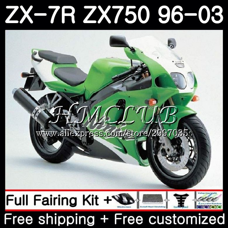 ZX 7R ZX 750 P 96-03 89-95 Kawasaki Rear Brake Pads ZXR 750 H//K//J//M//L ZX-7