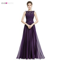 Lace Bridesmaid Dresses Ever Pretty EP08352 Women S Cheap Sleeveless A Line Long Modest Elegant Party