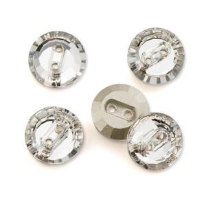 QIAO 10 мм 14 мм 16 мм круглый кристалл AB 28 ⑤ мешок из хрустального стекла двойное отверстие пришить на кнопку одежды DIY украшения