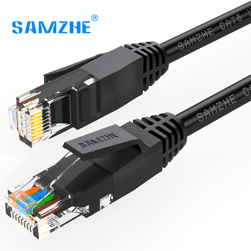 SAMZHE Cat6 Ethernet Patch Cable - RJ45 Computer,PS2,PS3,XBox Networking LAN Cords 0.5/1 ...