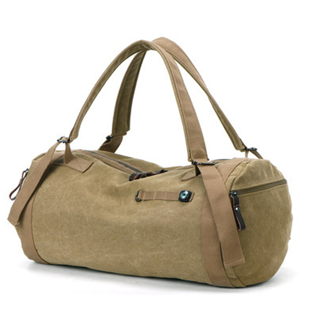 Tactical Style Canvas Sports Bag 4 colors
