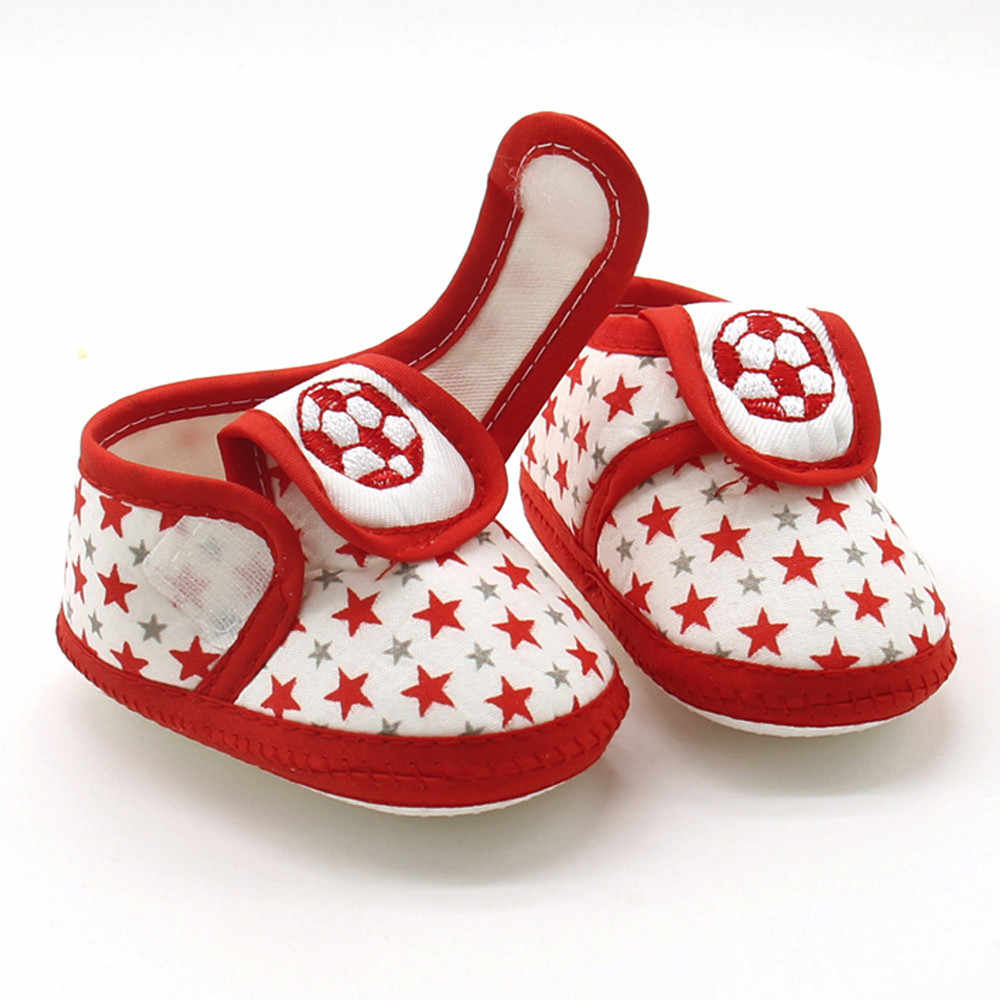 Baby Shoes Newborn Baby Fashion Lovely Star Girls Boys Comfortable Soft Sole Prewalker Warm Casual Flats Shoes туфли детские