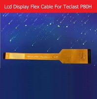 100 Genuine LCD Panel Flex Cable For Teclast P80H 8 0 LCD Display PCB Flex Cable