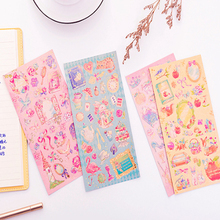 1pcs/pack Romantic Fantasy Fairy Tale World Princess Girl Heart Child Sticker For Gift And Dairy