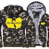 Mens Thick Coat Warm Winter Zipper 2017 New Plus Size Wu Tang Hoody Hip Hop Style