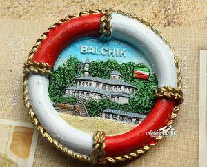 Балчик, Болгария туристический сувенир для путешествий забавное кольцо для жизни 3D резиновый магнит на холодильник подарок