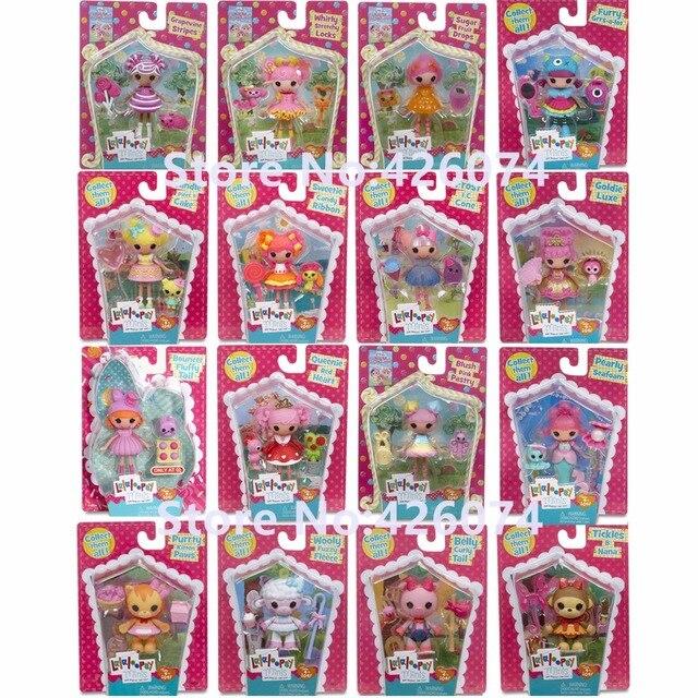 Nuevo Lalaloopsy Minis figuras muñecas para niñas Juguetes Decoración niños regalos de navidad